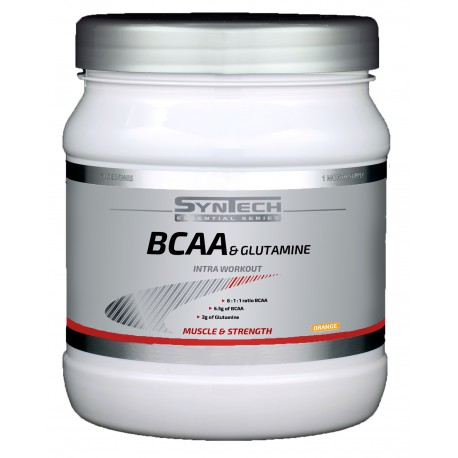 BCAA & Glutamine 300g orange Syntech Nutrition