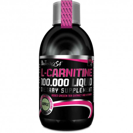 L-Carnitine 100.000 Liquid Biotech 500ml cerise