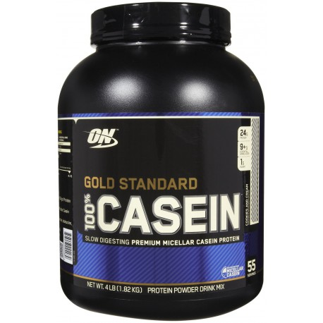 100% Caséine Gold Standard 1820g chocolat Optimum Nutrition