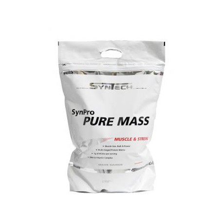 Synpro Pure Mass 5000g chocolat Syntech Nutrition